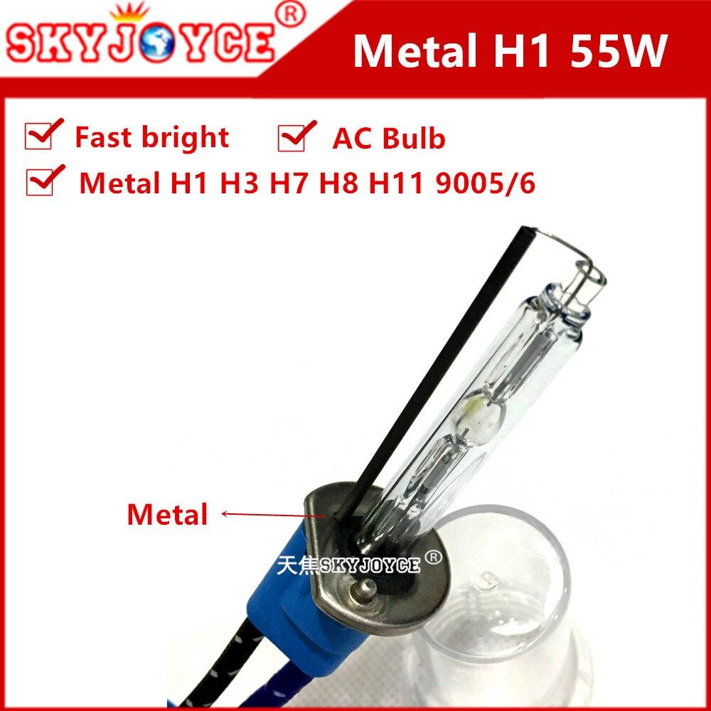 Ampoules 2X pour After Market HID KIT DE CONVERSION XENON 6000K Ice White 35 W plug in