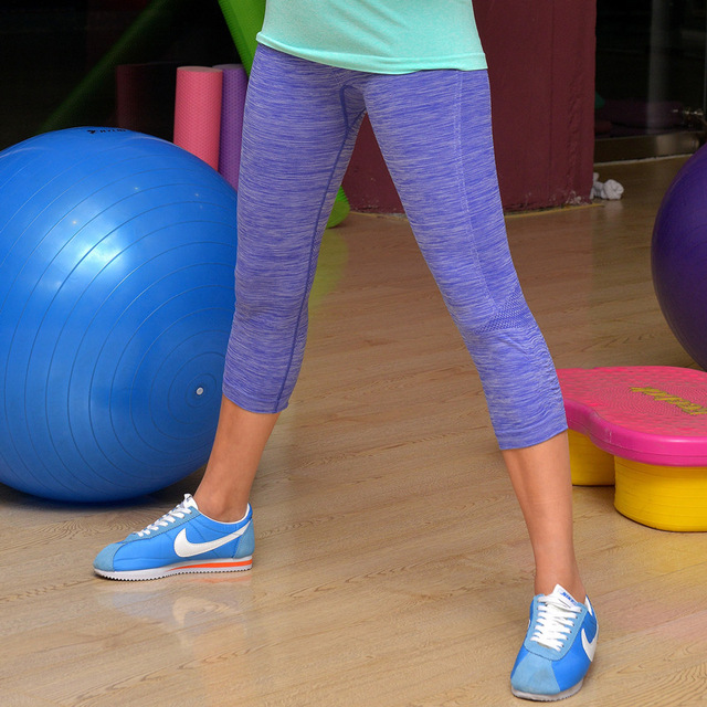 Women Yoga Sports Exercise Fitness Tights Leggings