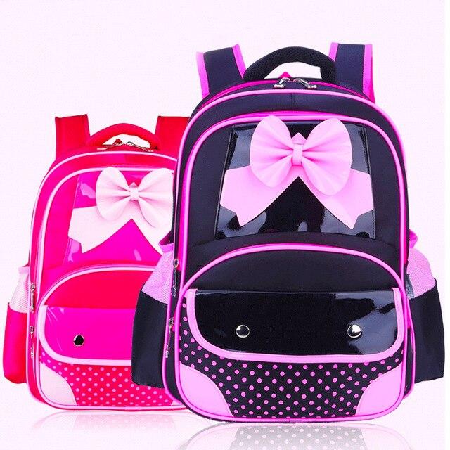 2016 New1-5 grade Girls Backpacks Kids Satchel Children School Bags For Girls Orthopedic Waterproof Backpack Child School Bag