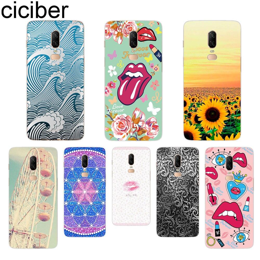 ciciber Sunflower Lips Phone Case For font b Oneplus b font font b 7 b font