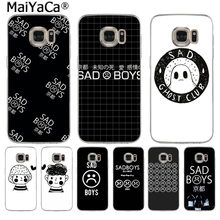 MaiYaCa I'm Not Gay Loser Lover Sad Boys Hot Phone Case Fashion for Samsung S9 S9 plus S5 S6 S6edge S6plus S7 S7edge S8 S8plus(China)