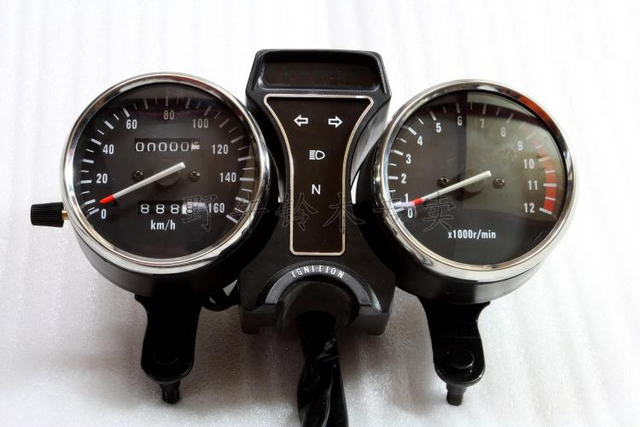 US $69 89 |OEM Quality Motorcycle Speedometer/Gauge/Tachometer Odometer  Instrument Assy For Suzuki GN250 (Traditional Mechanical Type)-in  Instruments