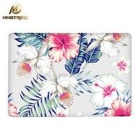Mimiatrend New Flowers Laptop Skin Sticker Decal For Apple Macbook Air Pro Retina 11 12 13