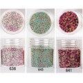 1 Caja de 10 ml Estereoscópica Perlas de Caviar de Bola de Acero de Manicura 3D Glitter Nail Art Decoración