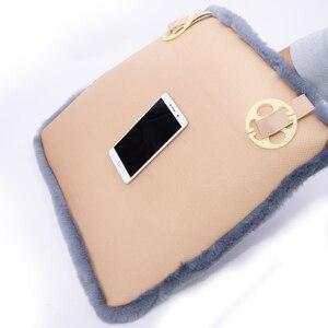 Image 4 - KAWOSEN Universal Faux Rabbit Fur Seat Cover,Cute Car Interior Accessorie Car Cushion Styling,Plush Black Car Seat Covers FFFC03