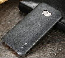 X-уровень Ретро чехол для телефона для HTC 10/HTC M10 Роскошные ультратонкие из искусственной кожи защитный задняя крышка для HTC One M10 случаях