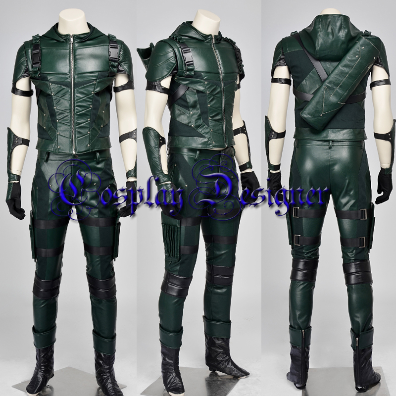 2015 halloween costumes for adult newest superhero Green Arrow season 4 Oliver Queen cosplay costume Oliver Arrow costume-in Menu0027s Costumes from Novelty ... & 2015 halloween costumes for adult newest superhero Green Arrow ...