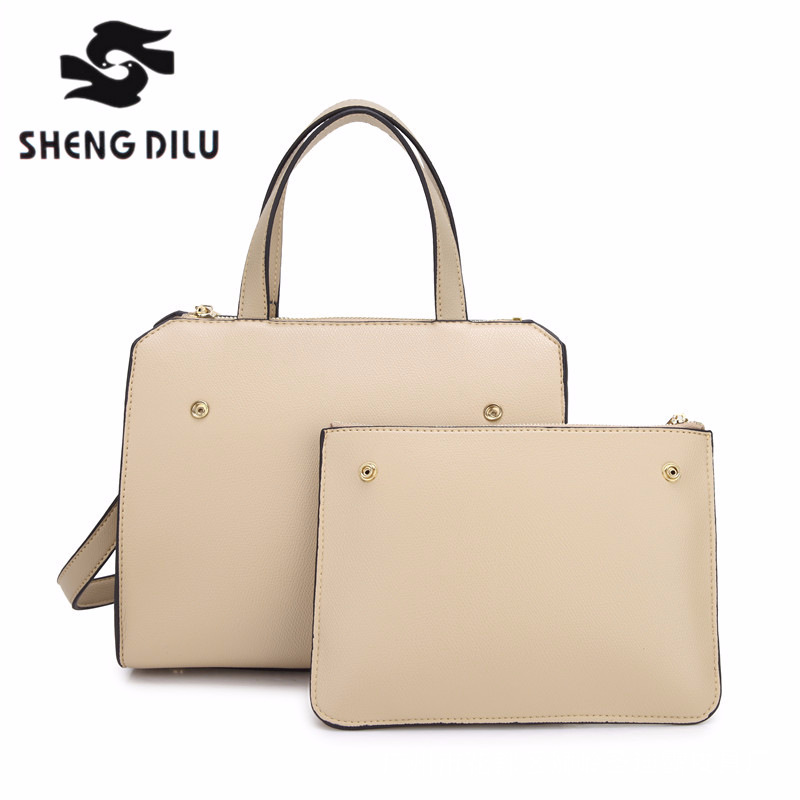 2018 women split Leather handbags smooth shoulder bag Luxury female High quality tote messenger bags for women NEW ARRIVAL giaevvi luxury handbags split leather tote women messenger bags 2017 brand design chain women shoulder bag crossbody for girls