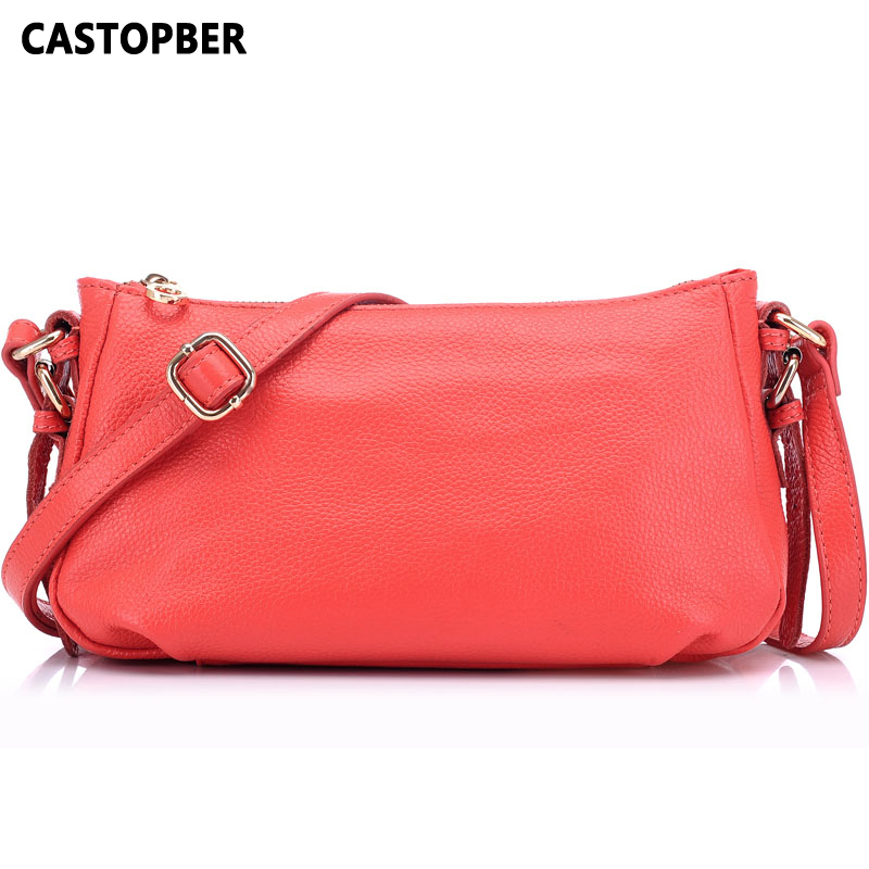 100% First Layer Cowhide Genuine Leather Fashion Women Bag Europe Style Women's Retro Bags Messenger Ladies Crossbody Shoulder qiaobao 100% genuine leather women s messenger bags first layer of cowhide crossbody bags female designer shoulder tote bag