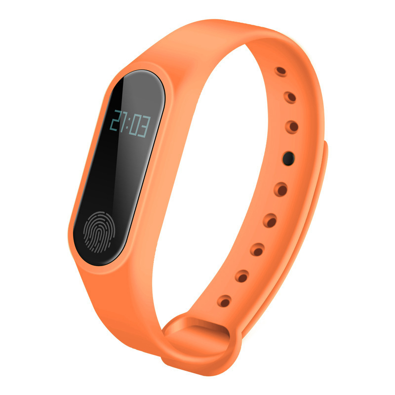 IP67 M2 Smart Wristband OLED Touch Screen Smart Watch Women Men Sports Step BT 4.0 Heart Rate Sleep Monitoring For IOS Android