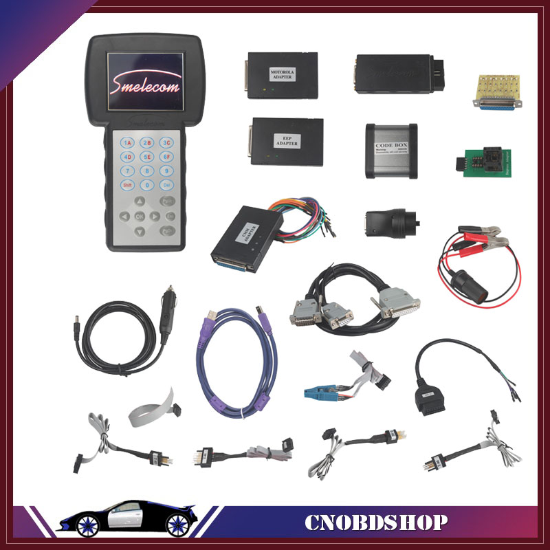 Original Smelecom USA PROG Full Package The Best Odometer Correction Tool For USA Cars