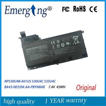 7.4V 45WH New Original  Laptop Battery For  SAMSUNG NP530U4B-A01US 530U4C 535U4C BA43-00339A AA-PBYN8AB