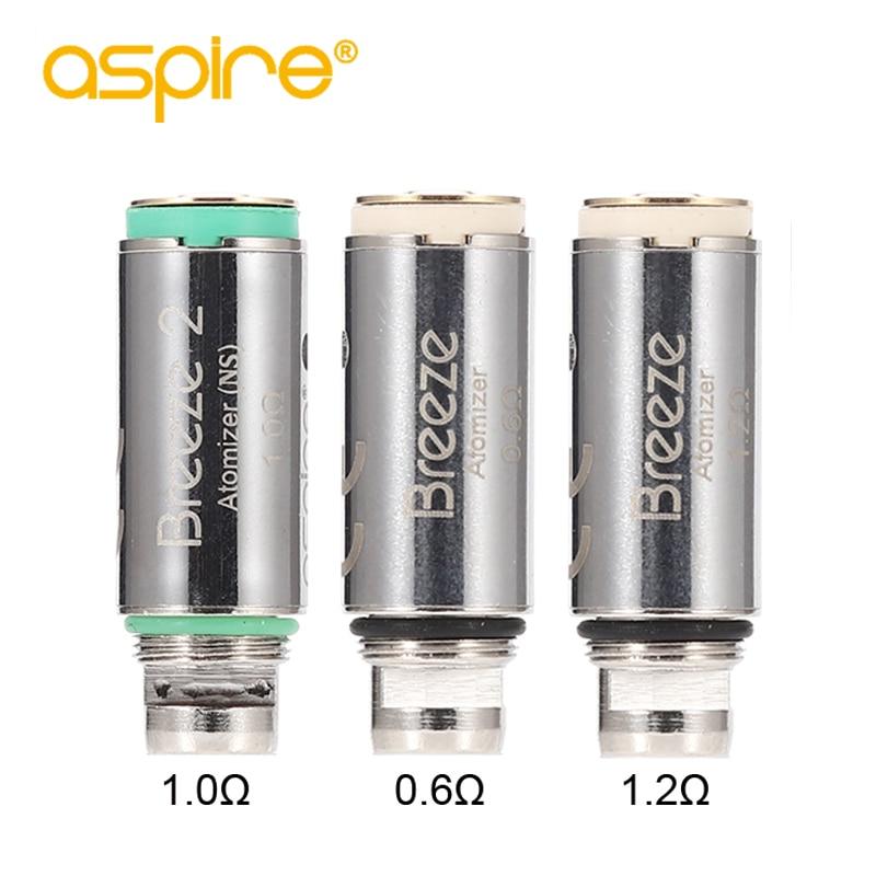 Electronic Cigarette Coils Aspire Breeze/Breeze 2 Vape Coil 1.0ohm Replacement Core Head For E-Cigarette Breeze Tank Evaporator