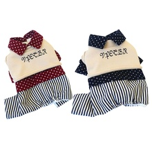 Cute Winter Pet Coat Clothes 2 Pieces Set for Dogs Clothing Warm Costume Small Chihuahua