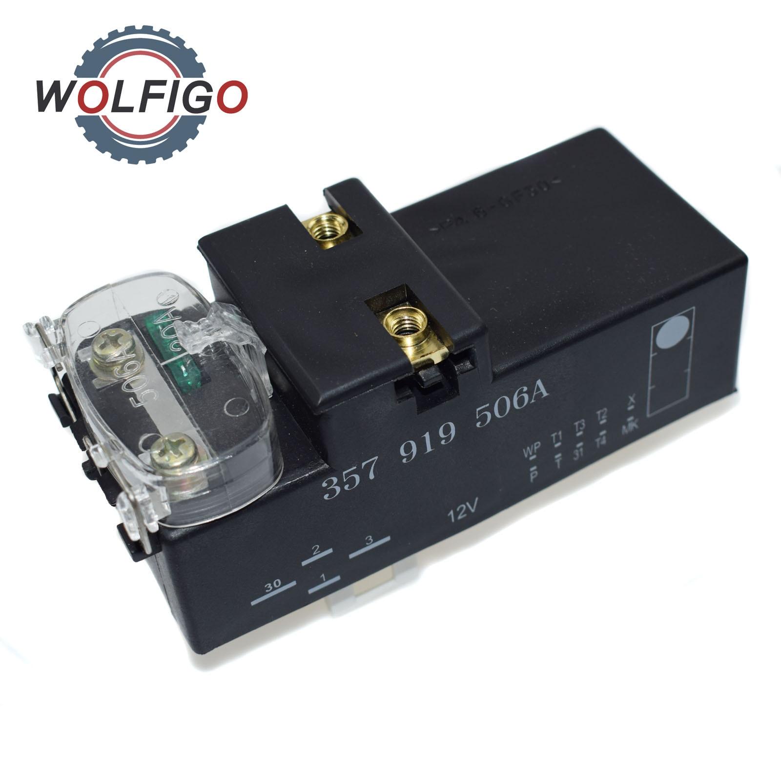 Wolfigo New Front Radiator Coolant Fan Control Switch