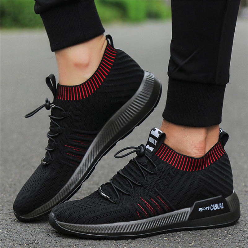 3c5b68318017 Hot Sale comfortable Men Socks Sneakers Beathable Mesh Male Casual Shoes  Lace up Sock Shoes Loafers Boys Super Light Sock Traine