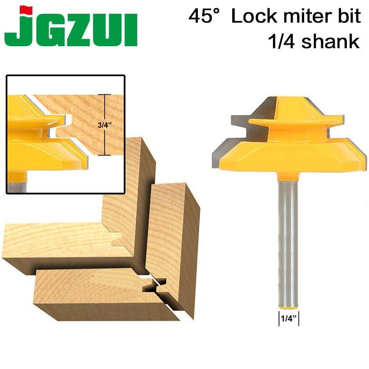Medium Lock 45 Degree Miter Router Bit With 3/4