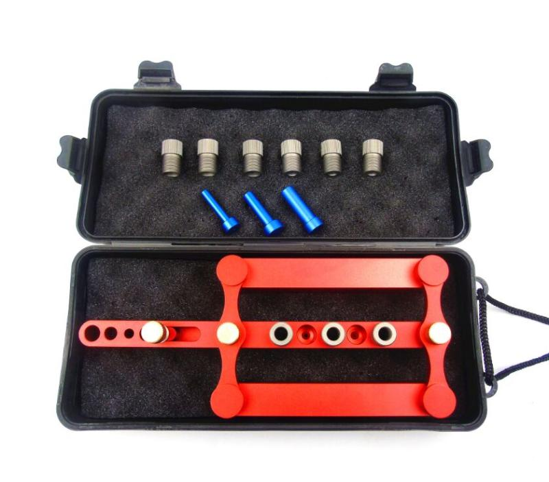 08550 Self Centering Dowelling Jig,Precise Drilling Tools,log tenon hole punchers Locator,woodworking tool,