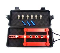 08550 Self Centering Dowelling Jig Precise Drilling Tools Log Tenon Hole Punchers Locator Woodworking Tool