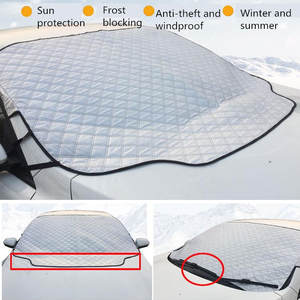 Cover Window-Protectors Car-Windshield Sun-Shade Rain Snow 1-Pc Magnetic Thickened