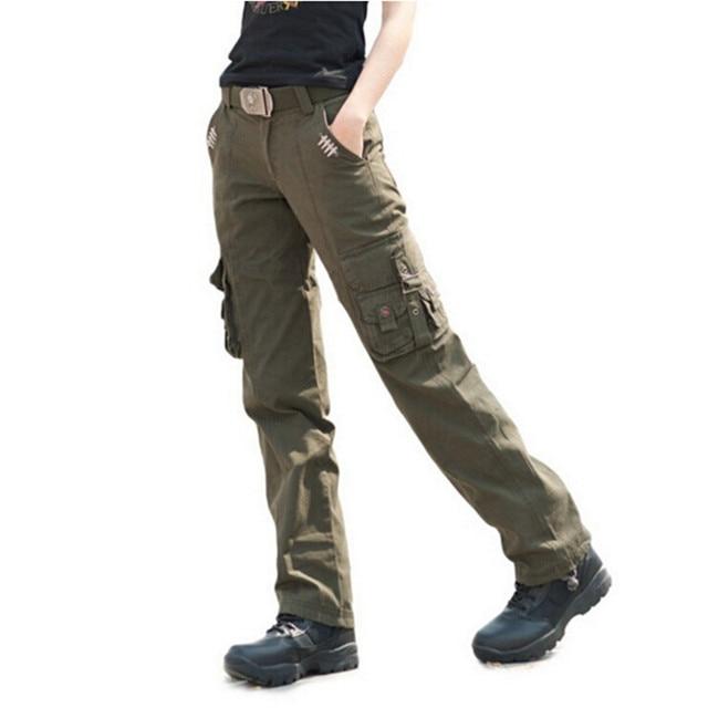 2d5e9537ce3 Women Military City Tactical Pants Women s Cargo Pants Army Combat Trousers  Size 27-31
