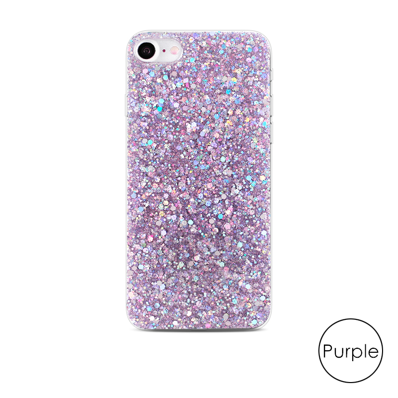 HTB12LmxaifrK1RjSspbq6A4pFXa7 - Gurioo Silicone Bling Glitter Crystal Sequins Hard shell Phone Case For iPhone 11 5 SE 6 6S 7 8 X Plus XR XS Max Protective Case