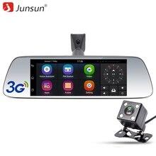 Junsun 7″ Car GPS Navigation Android 5.0 Special 3G DVR Camera Rearview Mirror Dual Lens Truck gps sat nav Navitel Europe Maps
