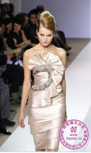 free shipping 2018 new fashion hot vestido de festa formal short sexy weddings elegant bridal gown