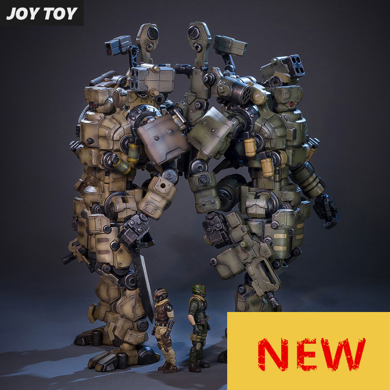 JOY TOY 1:27 액션 피규어 로봇 군인 세트 4rd 세대 생일 선물 장난감 (간이 포장) RE009-에서액션 & 장난감 숫자부터 완구 & 취미 의  그룹 1