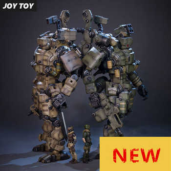 JOY TOY 1:27 Action figure robot Military soldier Set of the 4rd generation a birthday present toy (Simple packaging)RE009 - DISCOUNT ITEM  0% OFF All Category