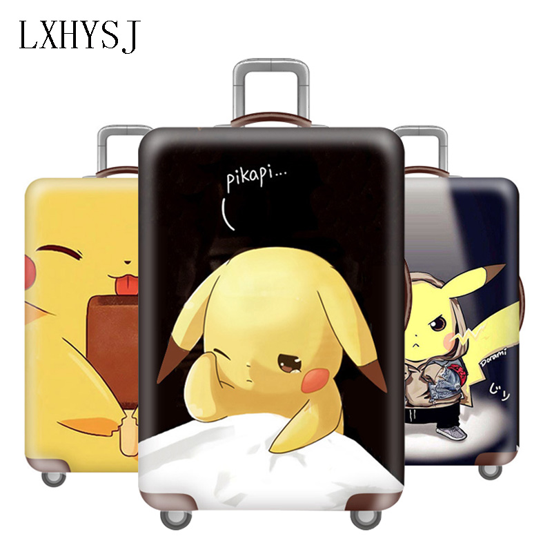 Fashion Luggage Protective Cover Suitable for 18-32 inch Suitcase trolley case elastic dust cover Travel accessoriesFashion Luggage Protective Cover Suitable for 18-32 inch Suitcase trolley case elastic dust cover Travel accessories