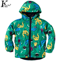 2017 New Boy Coats & Girls Jackets Children Clothing Baby Raincoat Waterproof Coat Girls Outerwear Boy Fashion Coat Kids Clothes