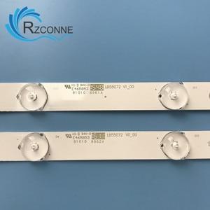 "Image 2 - Led hintergrundbeleuchtung streifen 14 lampe für Philips 55 ""TV 55PFF5701/T3 LB55072 55PUS6501/12 TPT550U2 EQLSH A.G GJ 2K16 550 D714 V4 L TPT550J1"