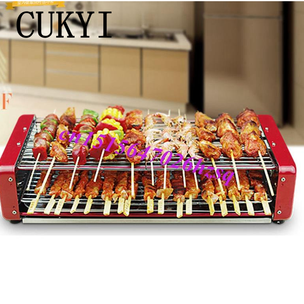 CUKYI Automatic rotary household electric grill BBQ electric oven bbq grill roast ана мария машаду прабабушка беатрис и прабабушка изабель