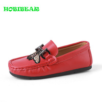 Boys Children Casual Shoes Red Black Kids Loafers for Boys Weight Light Children Girl Walking Shoes Slip on Casual Flat Shoes