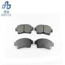 цена на 4pcs/set Auto parts front brake pads for kia Sorento High quality brake pads car