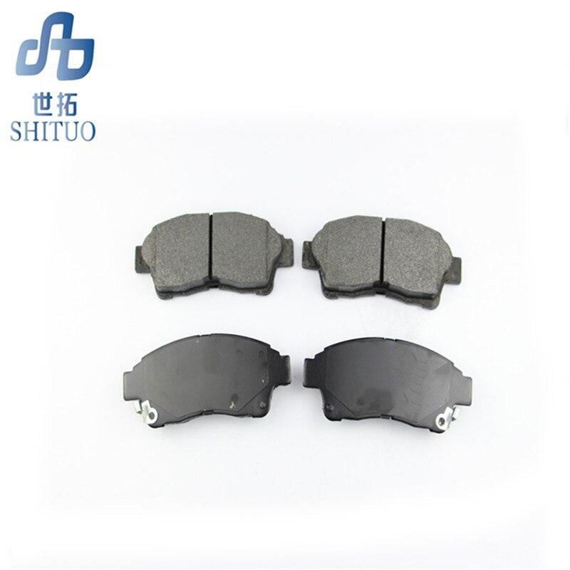 Plaquettes de frein avant de pièces d'auto de 4 pièces/ensemble pour la voiture de plaquettes de frein de haute qualité de kia Sorento