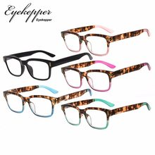 RT1802-5pc-Mix Eyekepper Stylish Reading Glasses for Women 5-pack Mixed Color(China)