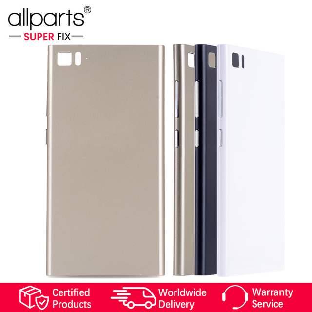 Original Rear Back Housing for XIAOMI Mi3 Back Cover Mi 3 Battery Door with  Volume Power Button Replacement 73bfe6878c