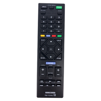 Remote Control RM-YD092 REMOTE CONTROL Electronics For SONY RMYD092 LED LCD HDTV TV
