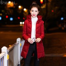 Brieuces 2017 Long Female Women Winter Coat Thickening Jacket Womens Outwear Parkas for