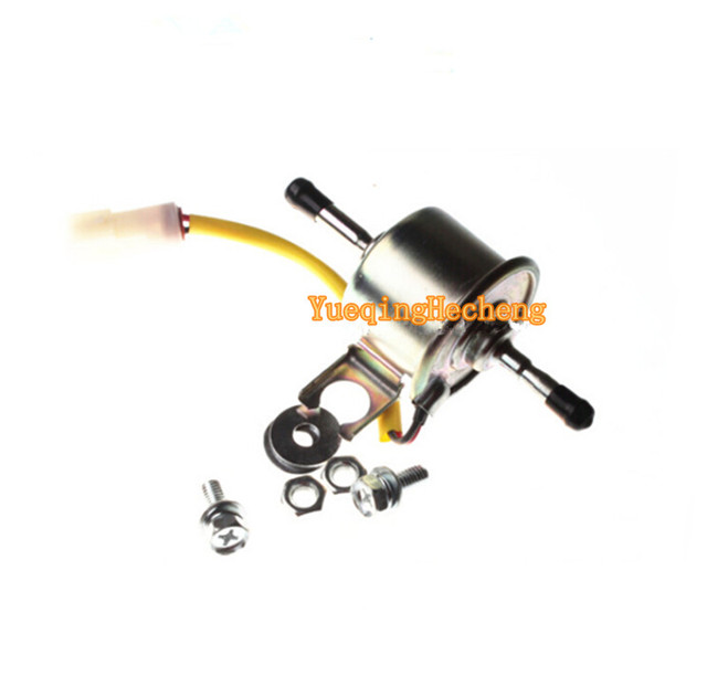 US $95 88 |12V Fuel Pump 8971491820 For John Deere 17ZTS 27C 27ZTS 35C  35ZTS 50C 50ZTS-in Generator Parts & Accessories from Home Improvement on