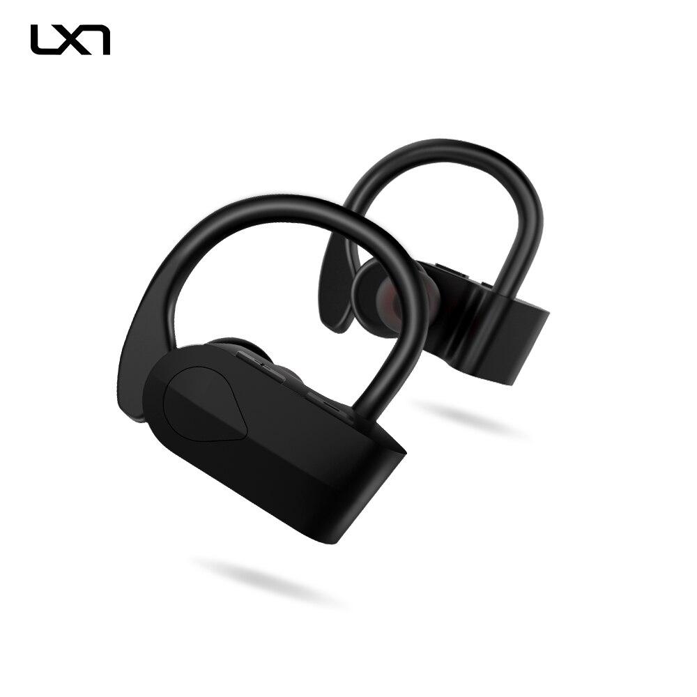LXT E9 Bluetooth V4 2 Earphone TWS Wireless Stereo Headphones Ear Hook Sports Earphone for Phone