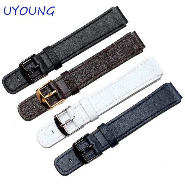Para huawei b2 pulseira genuína qualidade do couro faixa de relógio para relógios dos homens inteligentes acessórios