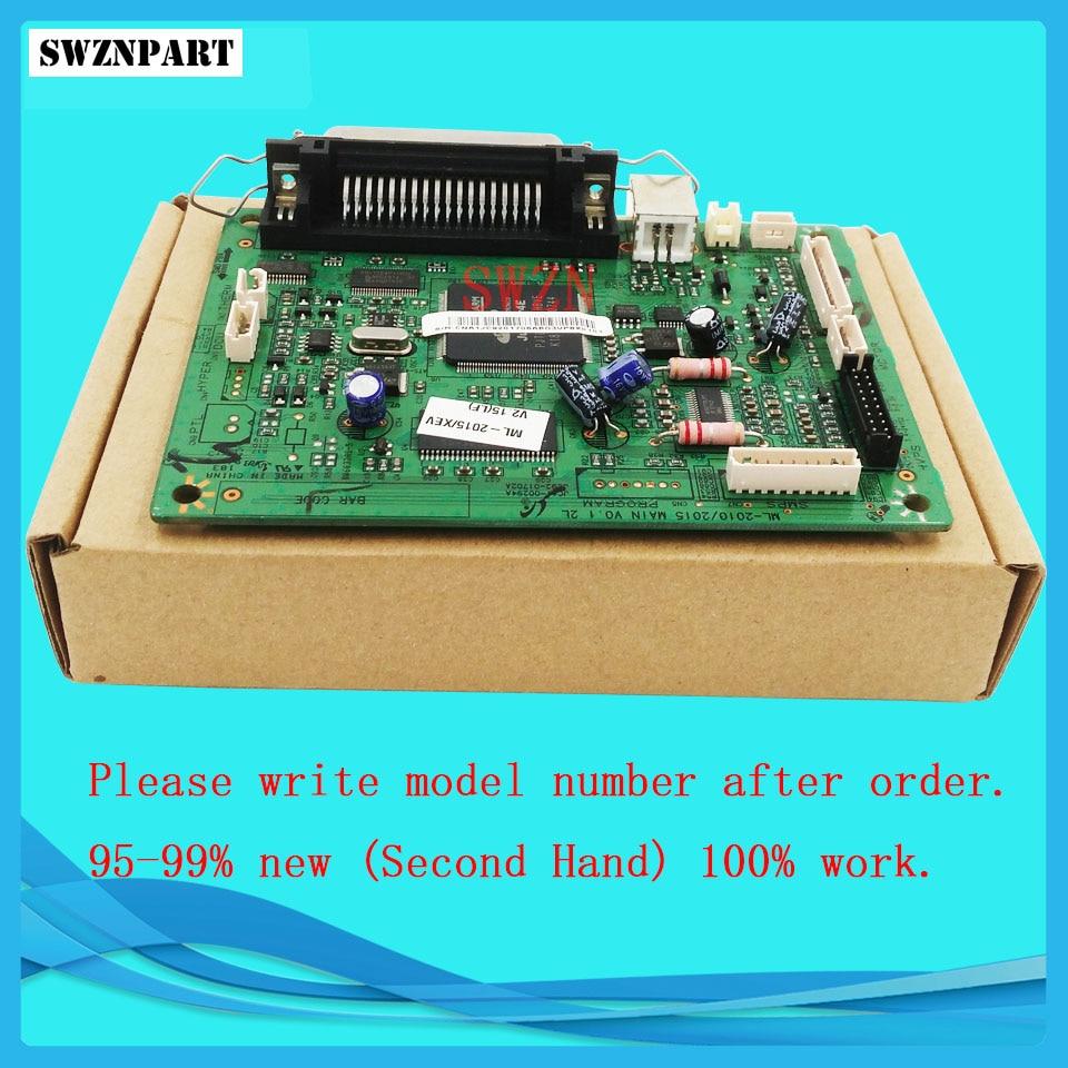 Formatter Board For Samsung ML-2015 ML-2010P ML2015 ML2010P ML 2015 2010 2010P logic Main Board MainBoard mother board formatter pca assy formatter board logic main board mainboard mother board for hp m775 m775dn m775f m775z m775z ce396 60001