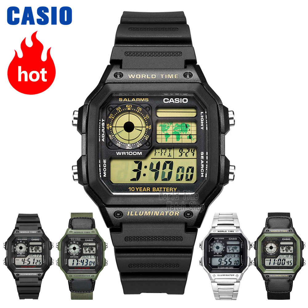 Casio Watch Waterproof Leisure Sports Men's Watch AE-1200WHD-1A AE-1200WHB-1B AE-1200WHB-3B AE-1300WH-1A AE-1300WH-4A AE1300WH8 ttl turn mbus host uart serial port to mbus host with short circuit protection
