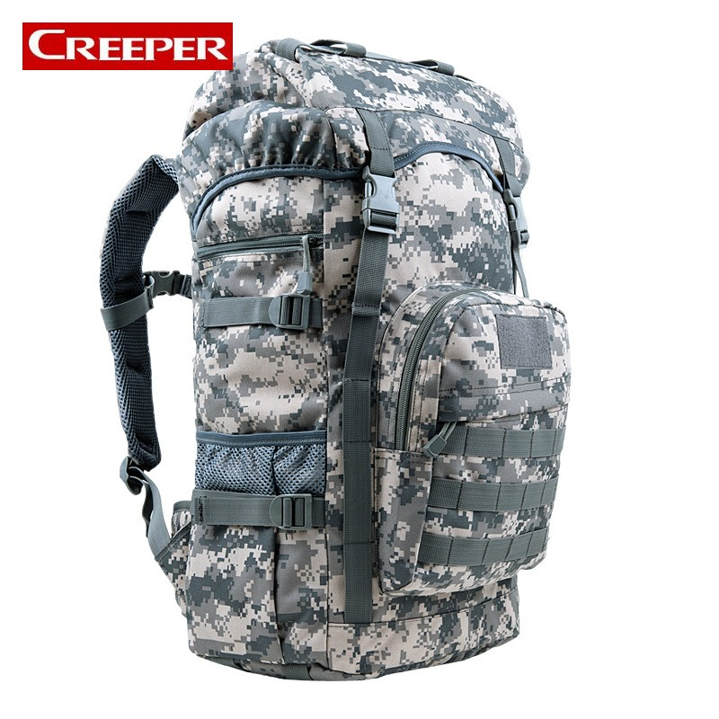 Фотография Men Outdoor Sport Backpack Nylon Wear Resistant Waterproof Bag Climbing Trekking Trail Mochila Tactica Militar Backpack