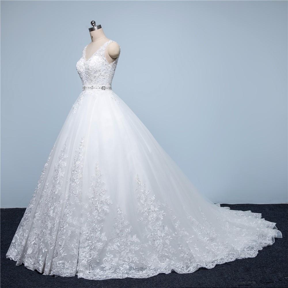 0556 Manches Princesse ligne Appliques Robes Sijane white Robe A Dentelle Blanc Romantique Ivory Courtes ivoire Banquet vqvaXOfxw