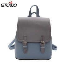 Vintage Backpack Female Brand Leather Women's backp