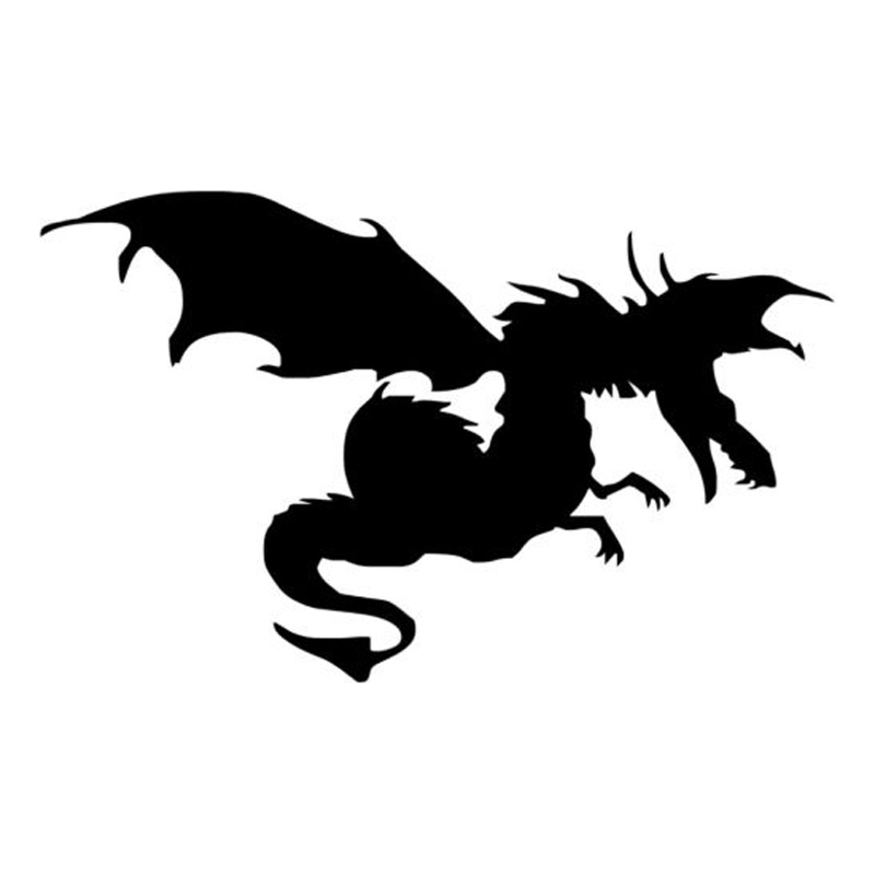 Картинка с надписью дракон